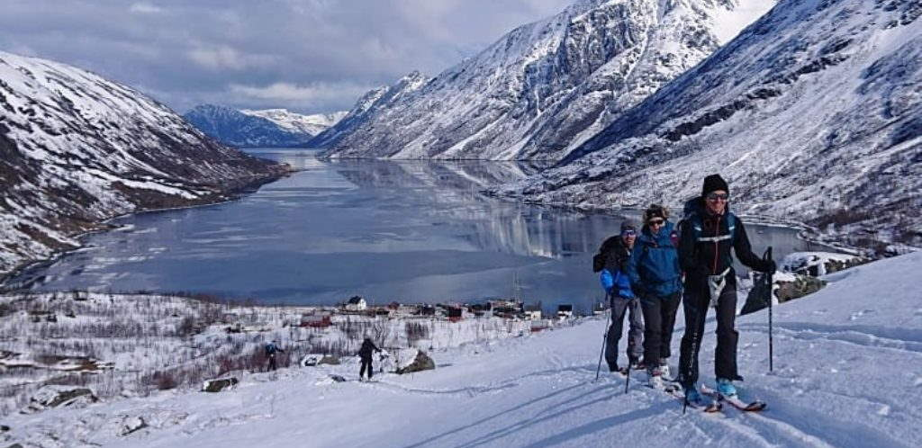 Langsfjord_Finnmark_Ski rando